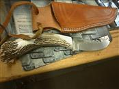 SILVER CREEK STONEWORKS Hunting Knife STAG KNIVES